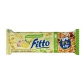 Батончик мюслі лимон імбир без цукру Fito light 25 г – ІМ «Обжора»