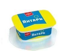 Сир плавлений 60% Янтарь Ласковое лето Савушкин продукт 170 г – ІМ «Обжора»