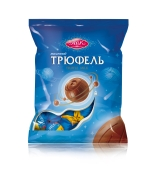 Цукерки Трюфель молочний АВК 180 г – ІМ «Обжора»