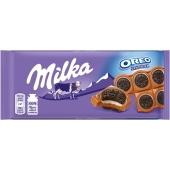 Шоколад молочний орео ваніль Milka 100 г – ІМ «Обжора»