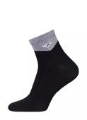 Шкарпетки короткі чорні чоловічі ACTIVE 2314 розмір 25, 020 – ІМ «Обжора»
