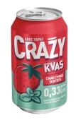 Квас Тарас Crazy Kvas зі смаком полуниці та м`яти 0,33 л – ІМ «Обжора»