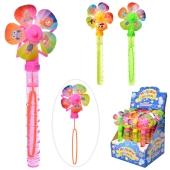 Мильні бульбашки 512 меч-вітрячок 16шт (4кольори) в диспл 22,5-25,5-19см – ІМ «Обжора»