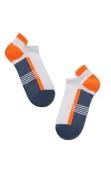 Шкарпетки ACTIVE 16С-72СП р,29, 083 ультракорот,джинс-помаранчевий – ІМ «Обжора»