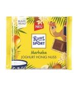 Шоколад Marhaba мол. йогурт, мед та горіхи Ritter Sport 100 г – ІМ «Обжора»