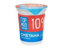 Сметана Гормолзавод №1, 10% 400 г – ІМ «Обжора»