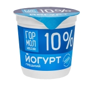 Йогурт Гормолзавод №1 10% Грецький 350 г – ІМ «Обжора»
