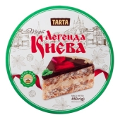 Торт Легенда Києва з арахісом Ла-Тарта 450 г – ІМ «Обжора»
