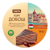 Торт бісквітний Добош Ла-Тарта  500 г – ІМ «Обжора»