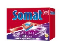 Таблетки д/ПММ Somat Все в 1(24) Duo – ІМ «Обжора»