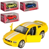 Машинка KT 5091 FW інерц. мет. 1:38 відчин. двері гумові колеса 4 кольори кор. 16-7,5-8см – ІМ «Обжора»