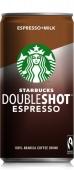 Напій кавовий Starbucks Doubleshot Espresso з молоком 0,2 л – ІМ «Обжора»