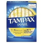 Тампони TAMPAX Discreet Pearl тампони з аплікатором Regular Duo 18 шт – ІМ «Обжора»
