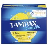 Тампони TAMPAX Compak тампони з апл. Regular Duo 16 шт – ІМ «Обжора»