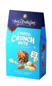 Цукерки молочні з арахісом-мигдалем-рисовими кульками Choco Crunch Millennium 100 г – ІМ «Обжора»