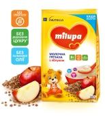 Каша гречана молочна з яблуком з 6 міс Milupa 210 г – ІМ «Обжора»