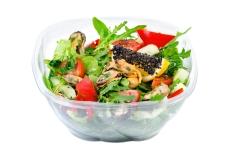 Салат з мідіями Від шефа 210 г – ІМ «Обжора»
