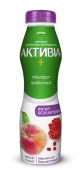 Біфідойогурт гранат-персик б/лактозний Данон Активіа 1,3% 290 г – ІМ «Обжора»