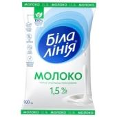 Молоко 1,5% Біла лінія 900 г – ІМ «Обжора»