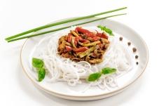 Рисовая лапша с овощами – ИМ «Обжора»