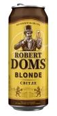 Пиво 4,6% Роберт Домс Blonde з/б Львівське 0,5 л – ІМ «Обжора»