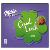 Цукерки молочний шоколад з начинкою какао Milka 110 г – ІМ «Обжора»