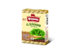 Сир плавлений  з зеленню Ферма 55% 90 г – ІМ «Обжора»