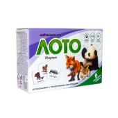 Лото Животные в коробке 30367 17,5-11,8-5,6 см – ИМ «Обжора»