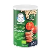 Снек  томати з морквою 10 міс Puffs Gerber 35 г – ІМ «Обжора»