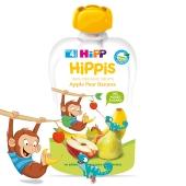 Пюре яблуко-груша-банан Hipp 100 г – ІМ «Обжора»