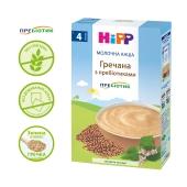 Каша Гречнева молочна з пребіотиками з 4 місяців Hipp 250 г – ІМ «Обжора»