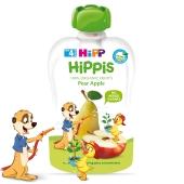 Пюре Груша-яблуко від 4 місяців Hippis Hipp 100 г – ІМ «Обжора»