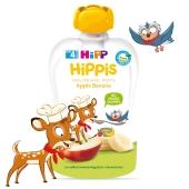 Пюре Яблуко-банан від 4 місяців Hippis Hipp 100 г – ІМ «Обжора»