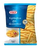 Заморожена  Картопля Фрі хвиляста Vici 750 г – ІМ «Обжора»