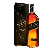 Віскі Johnnie Walker Black label 1 л кор. – ІМ «Обжора»