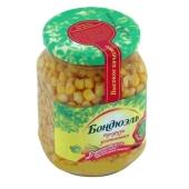 Консервы Бондюэль Кукуруза стеклянная банка 530 гр. – ИМ «Обжора»