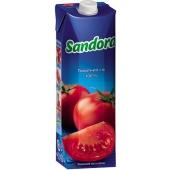 Сок Сандора 1.0 л. томат – ИМ «Обжора»