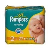 Подгузники Памперс (Pampers) UNISEX MINI 6*27 (2) – ИМ «Обжора»