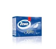 Платки носовые Зева (ZEWA) Softis Pocket Design 9*5 – ИМ «Обжора»