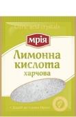 Лимонная кислота Мрия  25г – ИМ «Обжора»