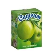 Сок Садочок зеленное яблоко 0,2 л – ИМ «Обжора»
