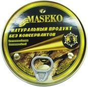 Шпроты в масле Масеко (Maseko) 200 г – ИМ «Обжора»