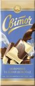 """Шоколад молочный """"Свиточ""""  2-в-1, 100 г – ИМ «Обжора»"""
