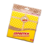 Салфетки губчатые Чисто 3 шт – ИМ «Обжора»