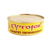 Паштет Хуторок печеночный 250 гр. – ИМ «Обжора»