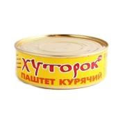 Паштет Хуторок куриный 250 гр. – ИМ «Обжора»
