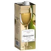 Вино Праздничная коллекция Полусладкое белое 1 л – ИМ «Обжора»