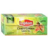 Чай Липтон Зеленый Цитрус 25 пак. – ИМ «Обжора»