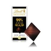 Шоколад Линдт Экселенс 99% черный, 50 г – ИМ «Обжора»