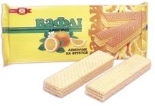 Вафли Бисквит-шоколад (ХБФ) Лимончик диабетические на фруктозе 130 г – ИМ «Обжора»